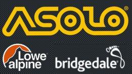 Sport Prima - distributor a prodejce špičkové trekingové obuvi Asolo, batohů Lowe Alpine, ponožek Bridgedale a vložek do obuvi Spenco